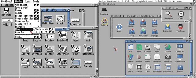 Amiga Workbench 3.1.4